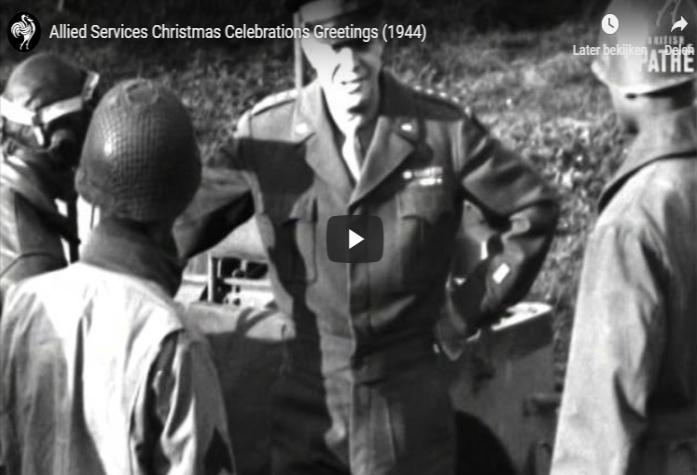 Kerstmis tijdens de Tweede Wereldoorlog in het Britse bioscoopjournaal