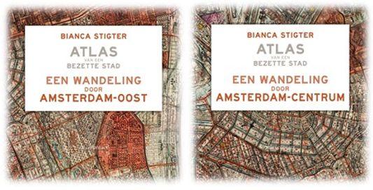 Atlas Contact publiceert twee audiowandelingen uit Atlas van een bezette stad van Bianca Stigter