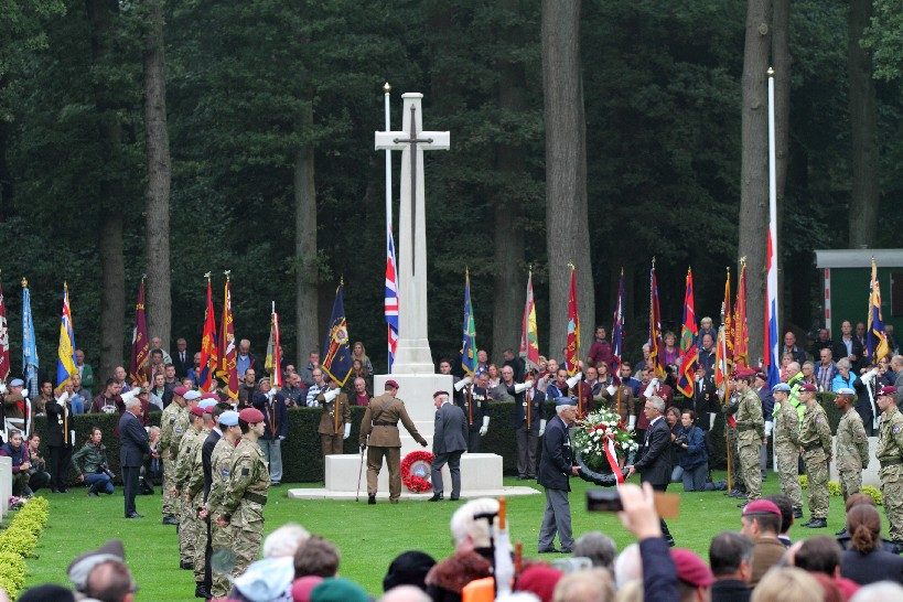 Airborne Commemorations Oosterbeek Cemetery 2013