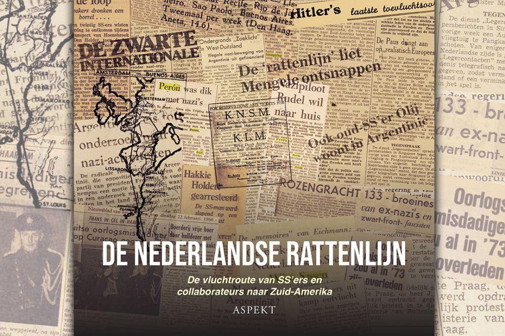 Boek over Nederlandse rattenlijn slotstuk van circa 20 jaar onderzoek