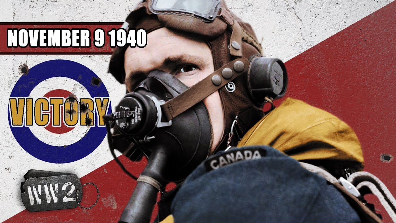 World War 2 Youtube Serie - Britain's First Victory, Germany Plunders Europe & Mussolini's Folly