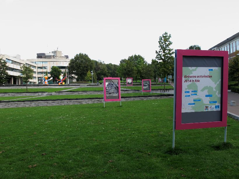 Open Air exhibition 'Airborne in Ede'