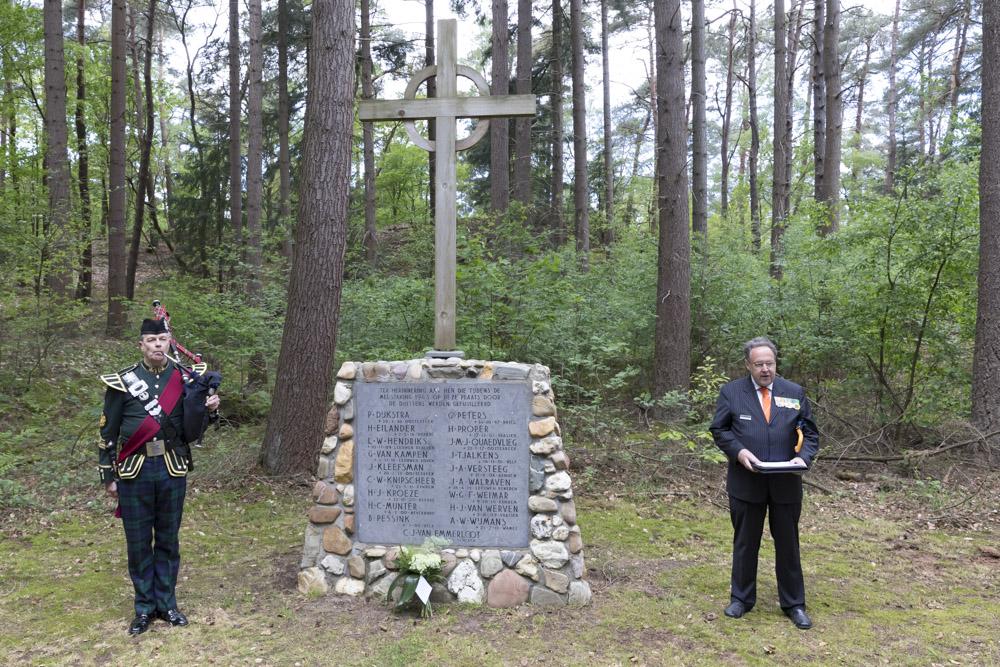 4 mei, herdenking Arnhem Waterberg