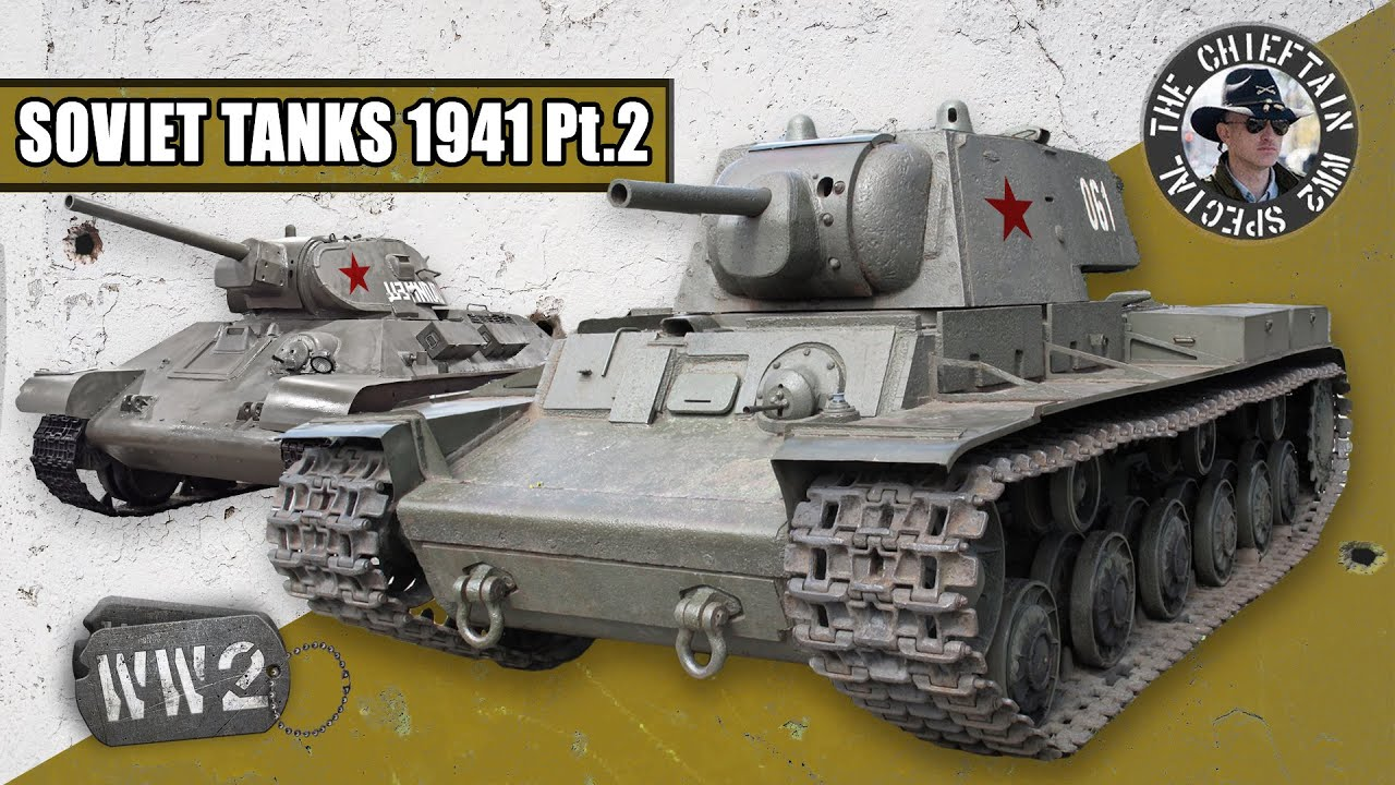 World War 2 Youtube Series - Tanks of the Red Army in 1941: Medium and Heavy Tanks