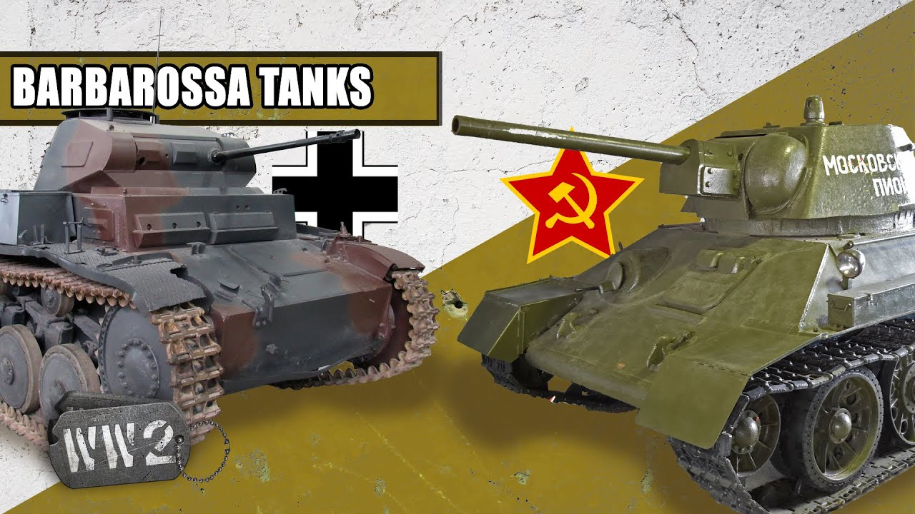 World War 2 Youtube Series - The Tanks of Operation Barbarossa - WW2 Special