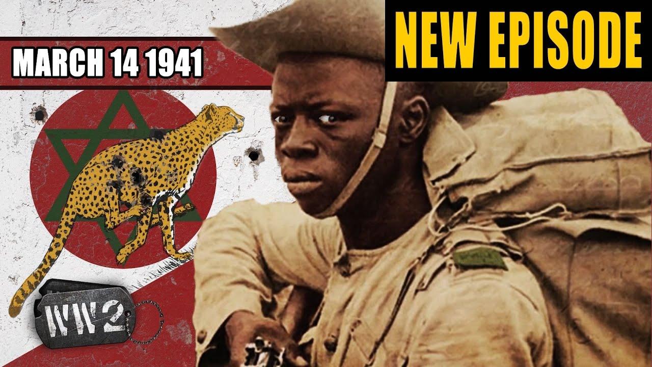 World War 2 Youtube Series - Nigerians Chasing Italians Like Cheetahs Hunt a Bull