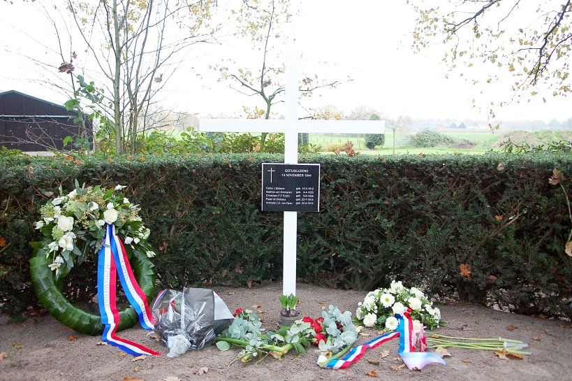 Fotoverslag herdenking gefusilleerden 14 november 1944 te Renswoude