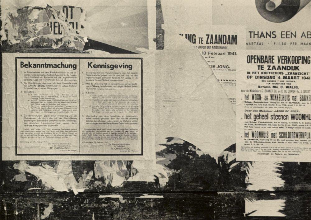 Verloop van de oorlog in beeld gebracht met 50 pamfletten