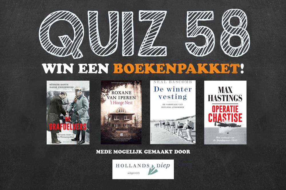 TracesOfWar.nl publiceert WO2-quiz #58
