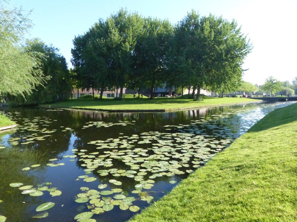 Op zoek naar sporen van de oorlog in Leiden