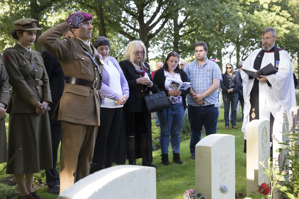 Photo Report Interment of ashes Arnhem veterans at Oosterbeek Cemetery