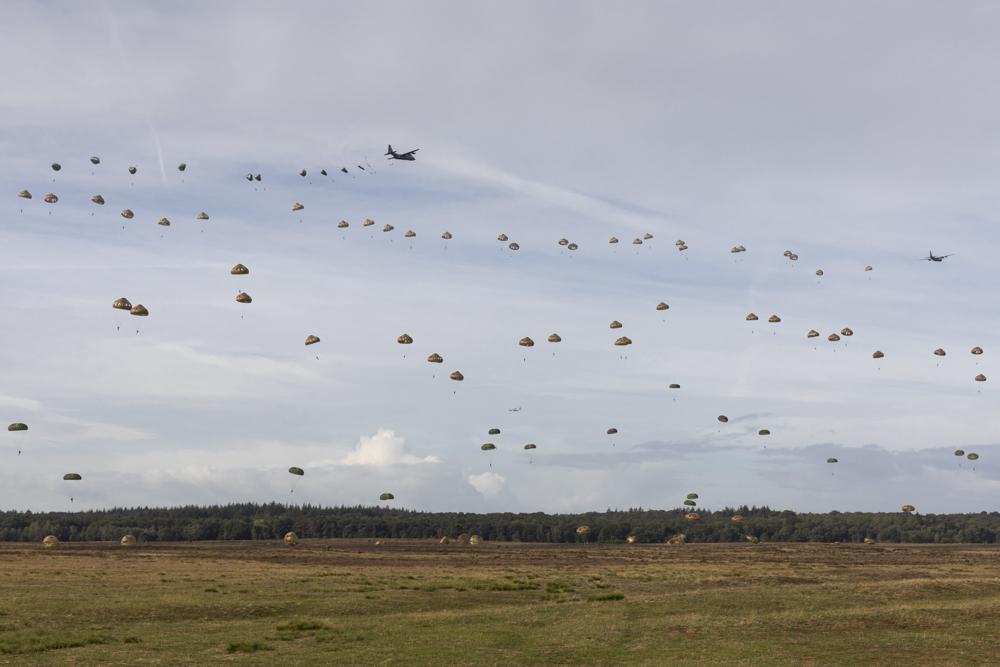 Airborne Herdenking Ginkelse Heide 2018