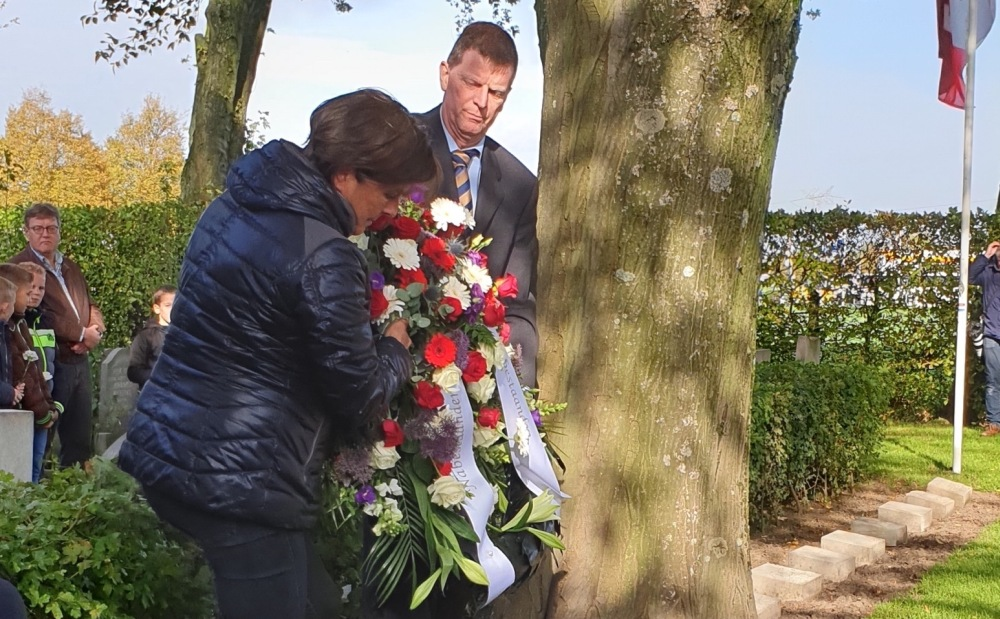 Fotoverslag 75e herdenking bevrijding Rilland-Bath 25 oktober 2019