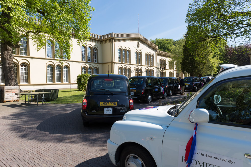 Britse veteranen te gast in Bronbeek