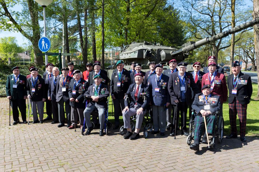 Britse veteranen Tweede Wereldoorlog in Nederland