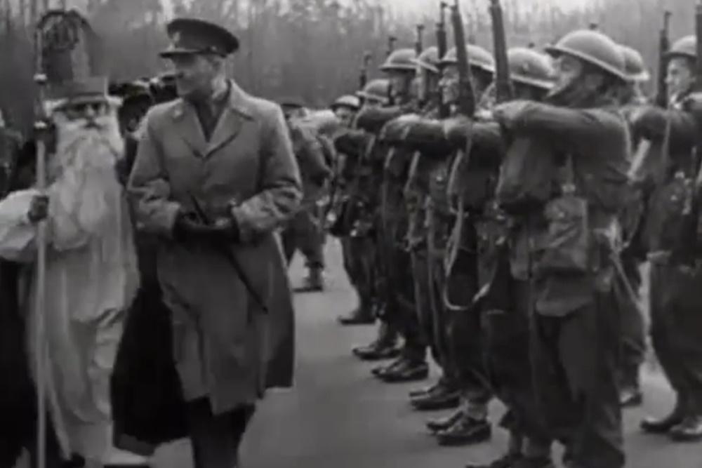 Sinterklaas, Kerstmis en Oude Jaar 1944 met de geallieerde troepen in de regio