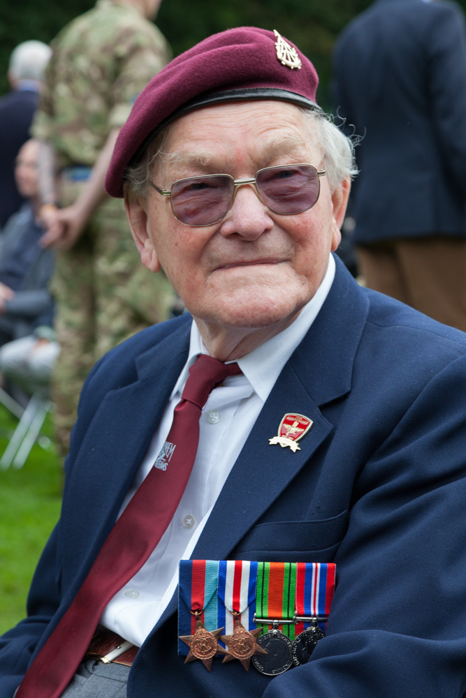 British veteran Ken Washer passed away