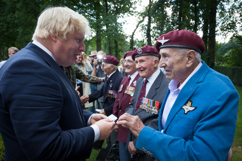 Photo Report Commemoration Oosterbeek with Boris Johnson