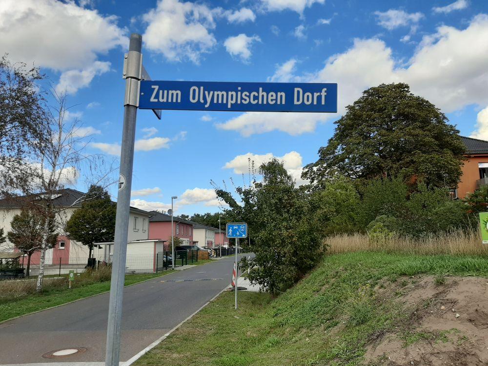 Fotoverslag Olympisch Dorp bij Berlijn