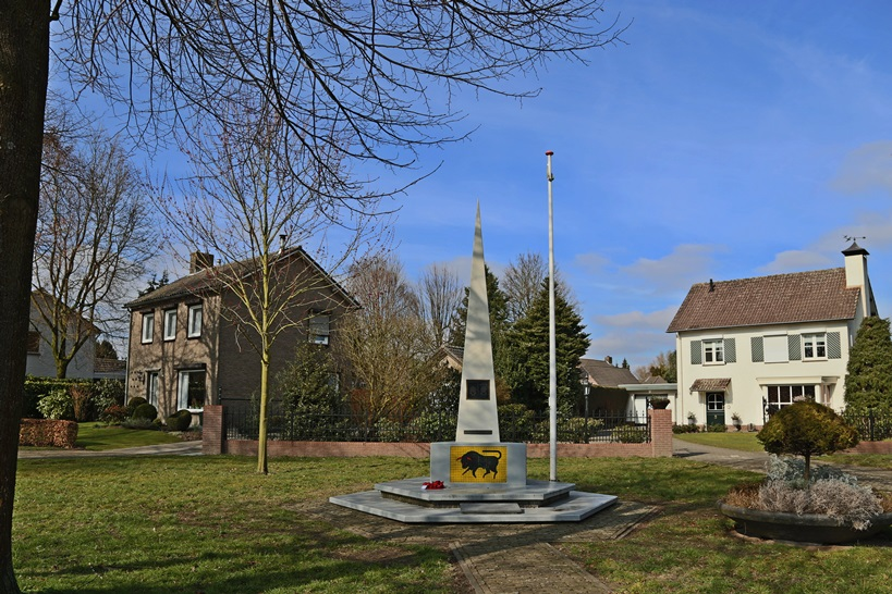 Correction liberation monument Stiphout