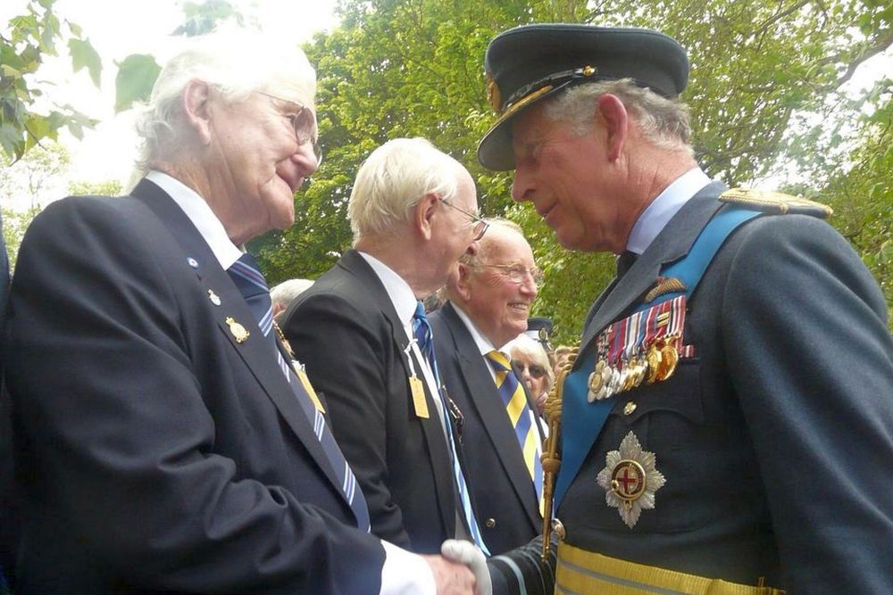 The strong faith of RAF veteran John Henry Meller