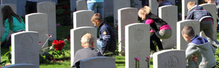 Service Airborne cemetery Oosterbeek