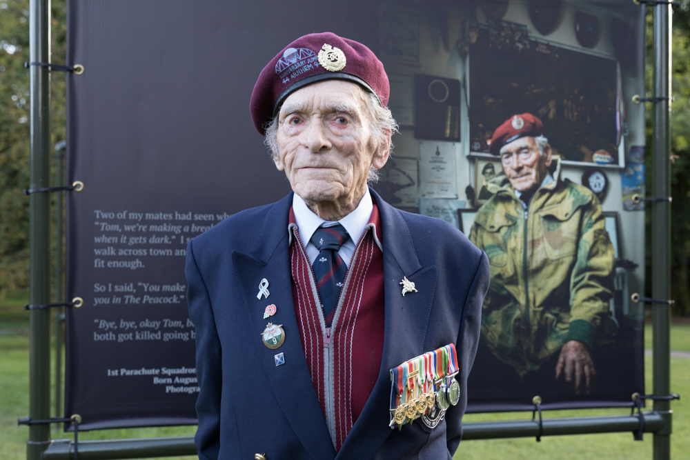 25-01: British WW2 veteran Tom Hicks passed away