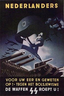Nederlandse SS'ers gaven oorlogspensioen niet op