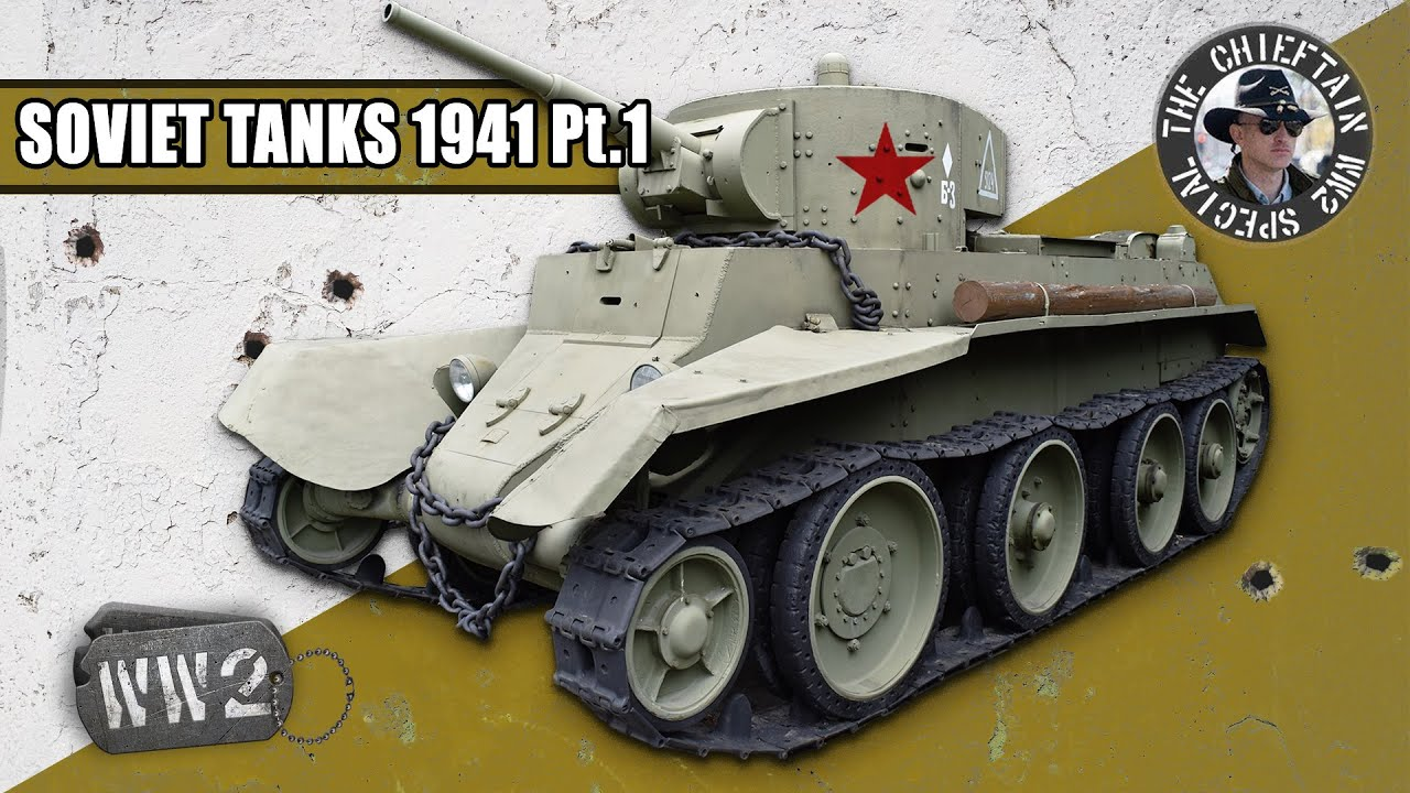 World War 2 Youtube Serie - Tanks of the Red Army in 1941