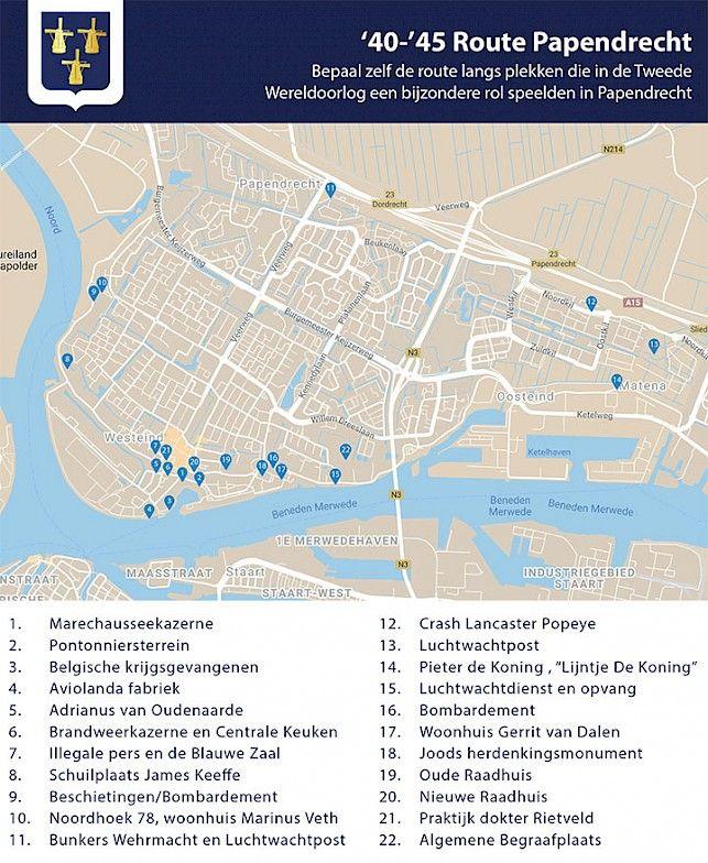 23-10: Oorlogsroute door Papendrecht