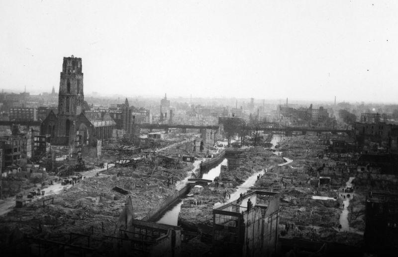 Gezocht: slachtoffers van het bombardement