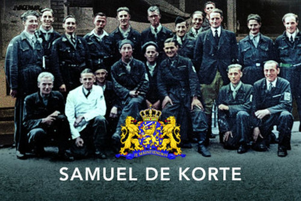 Book of TracesOfWar volunteer Samuel de Korte published in English