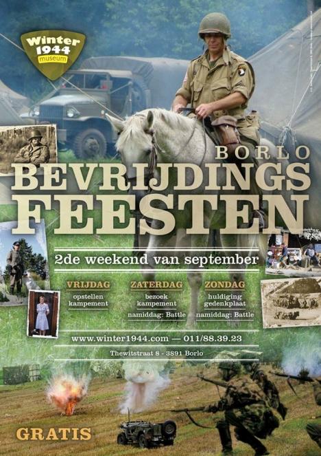 Bevrijdingsfeesten Borlo op 7 en 8 september 2013