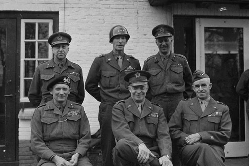 Wie was Veldmaarschalk Bernard Montgomery die in 1945 te Geldrop verbleef
