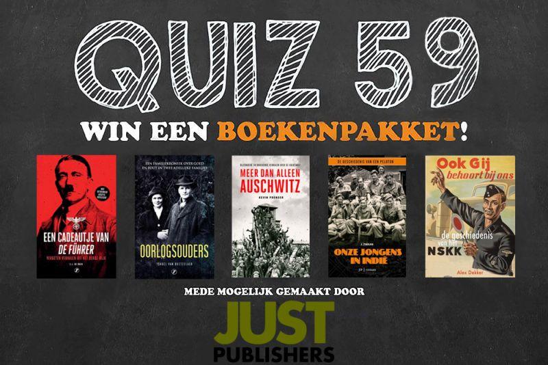 TracesOfWar.nl publiceert quiz #59