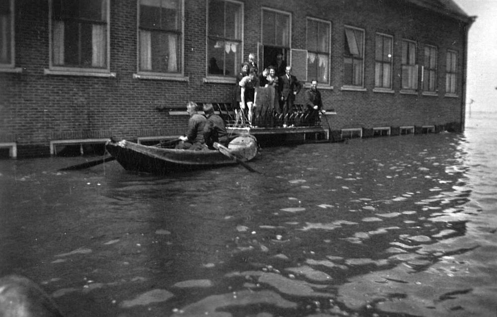 Ingrepen van de Duitse bezetter in de waterhuishouding waren onverantwoord