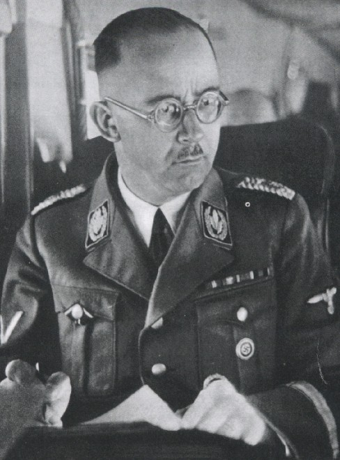 Valse papieren waarmee SS'er Heinrich Himmler wilde vluchten gevonden