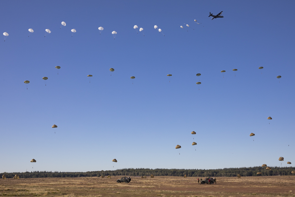 Photo Report Airborne Landing and Commemoration