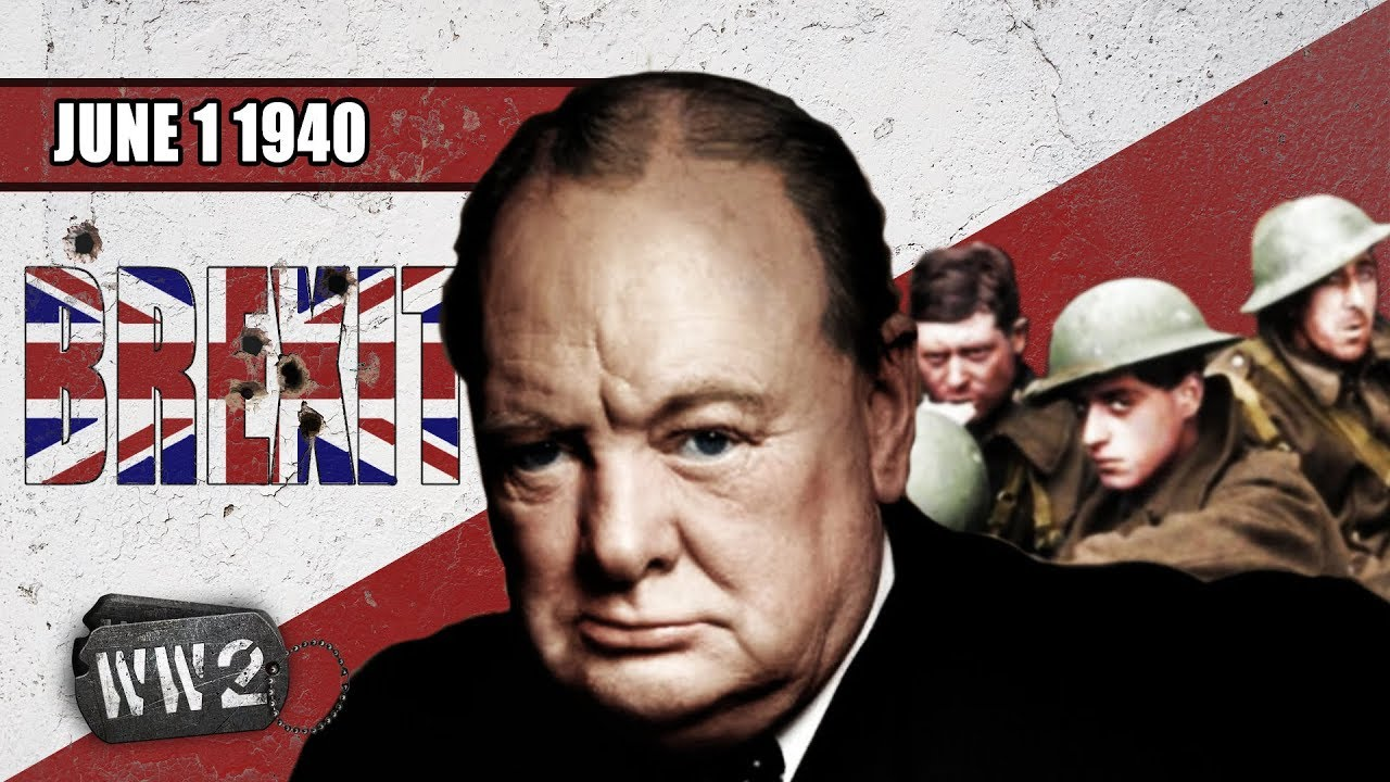 WW2 Youtube Serie - 1 juni 1940 - Brexit bij Duinkerken