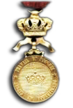 Golden Medal in the Order of the Crown