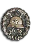 Wounded Badge Condor Legion in Silver