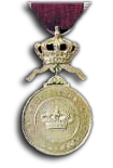 Silver Medal in the Order of the Crown