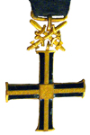 Cross of Independence with Swords