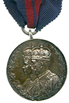 Koning George V Kronings Medaille