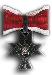 Red Zeljeni Trolist First Class Cross with Oak Wreath