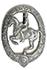 Deutsches Reiterabzeichen in Silber