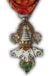 Officier in de Orde van een Miljoen Olifanten en Witte Parasol