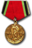 Jubilee Medal for 20 years of Victory in the Great Patriotic War of 1941-1945