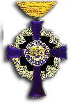 Cross of Merit in the Huisorde van Oranje