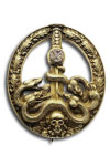 Anti-Partisan Badge in Gold with Diamonds